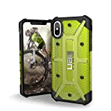 UAG iPhone X Plasma Feather-Light Rugged [CITRON] Military Drop Tested iPhone Case