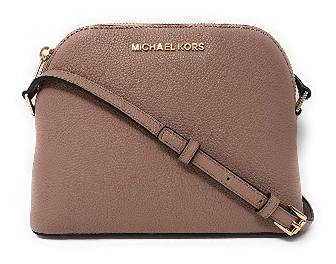 9900f0d004f8 Michael Kors Adele Medium Dome Leather Crossbody Bag  Amazon.co.uk  Clothing