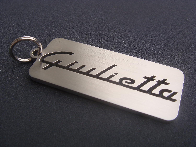 El llavero de Alfa Romeo Giulietta Giulia GT Turbo 16 V Tuning Las GTA GTV emblema del encendedor de cigarrillos: Amazon.es: Coche y moto