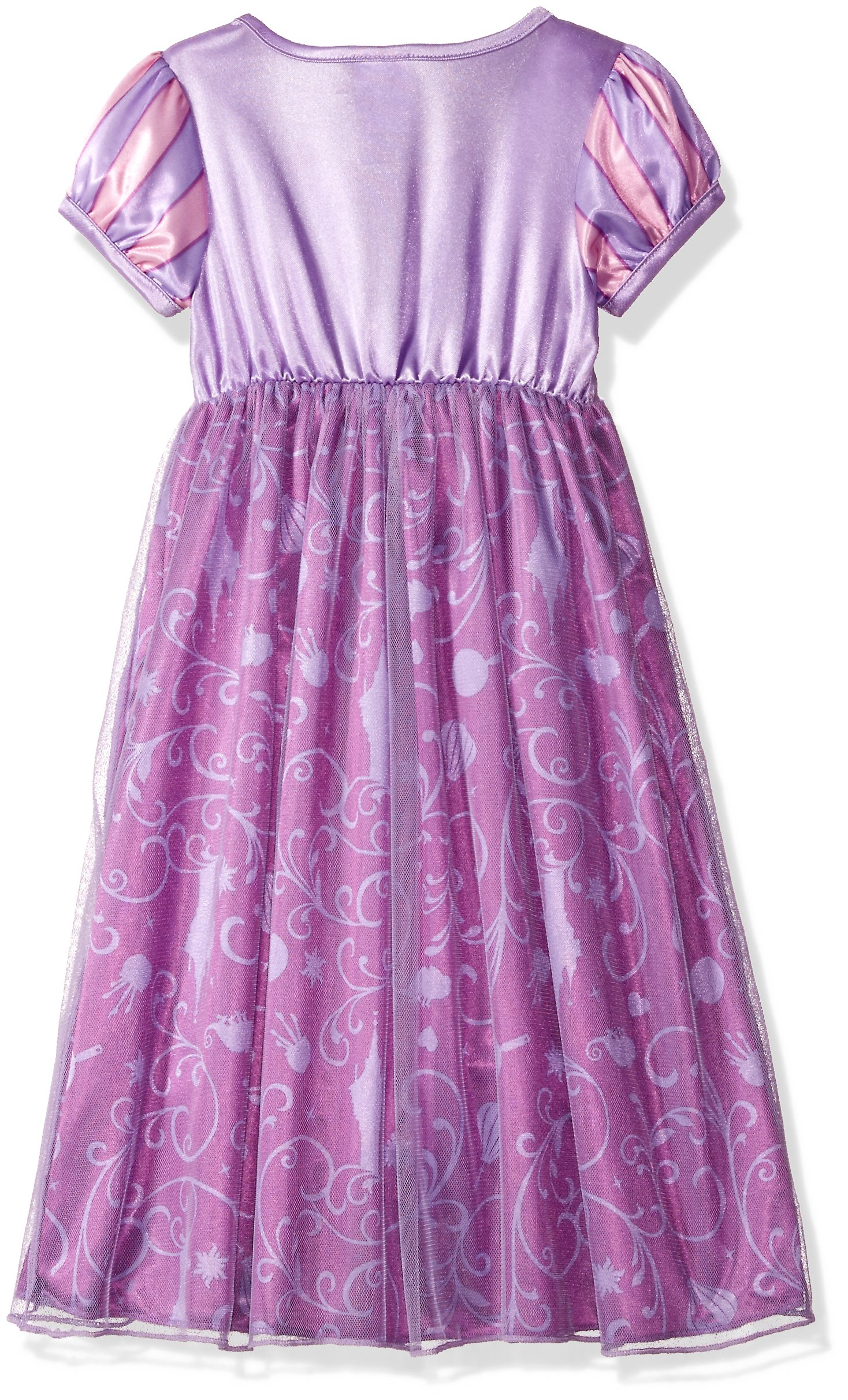 Disney Big Girls' Fantasy Nightgowns, Rapunzel Lively Lavender, 8 by Disney (Image #2)