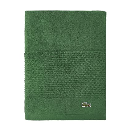 Lacoste Legend Towel 100 Supima Cotton Loops 650 Gsm 30 X54