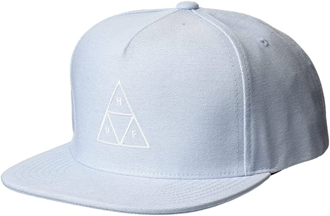 4d51026e9c21 Casquette Snapback Triple Triangle bleu HUF - Ajustable  Amazon.fr ...