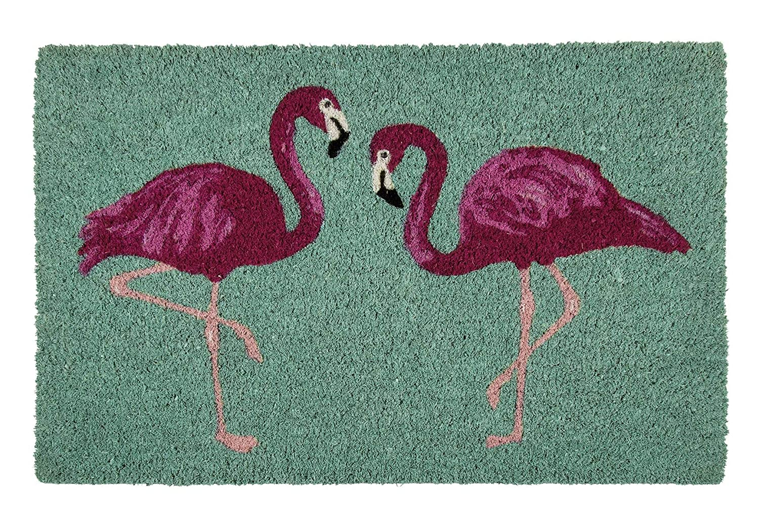 Up Close Paillasson Flamants roses (60cm x 40cm) Close Up