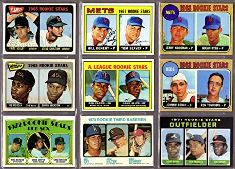 Topps Baseball 9 Card Rookie Reprint Lot 1965 Steve