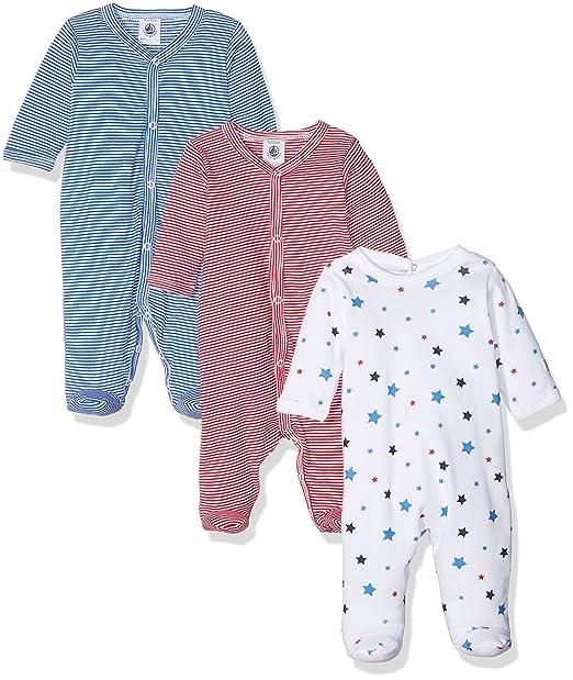 Petit Bateau Metea Conjuntos de Pijama, Bebé-Niños, (Special Lot 00 ...