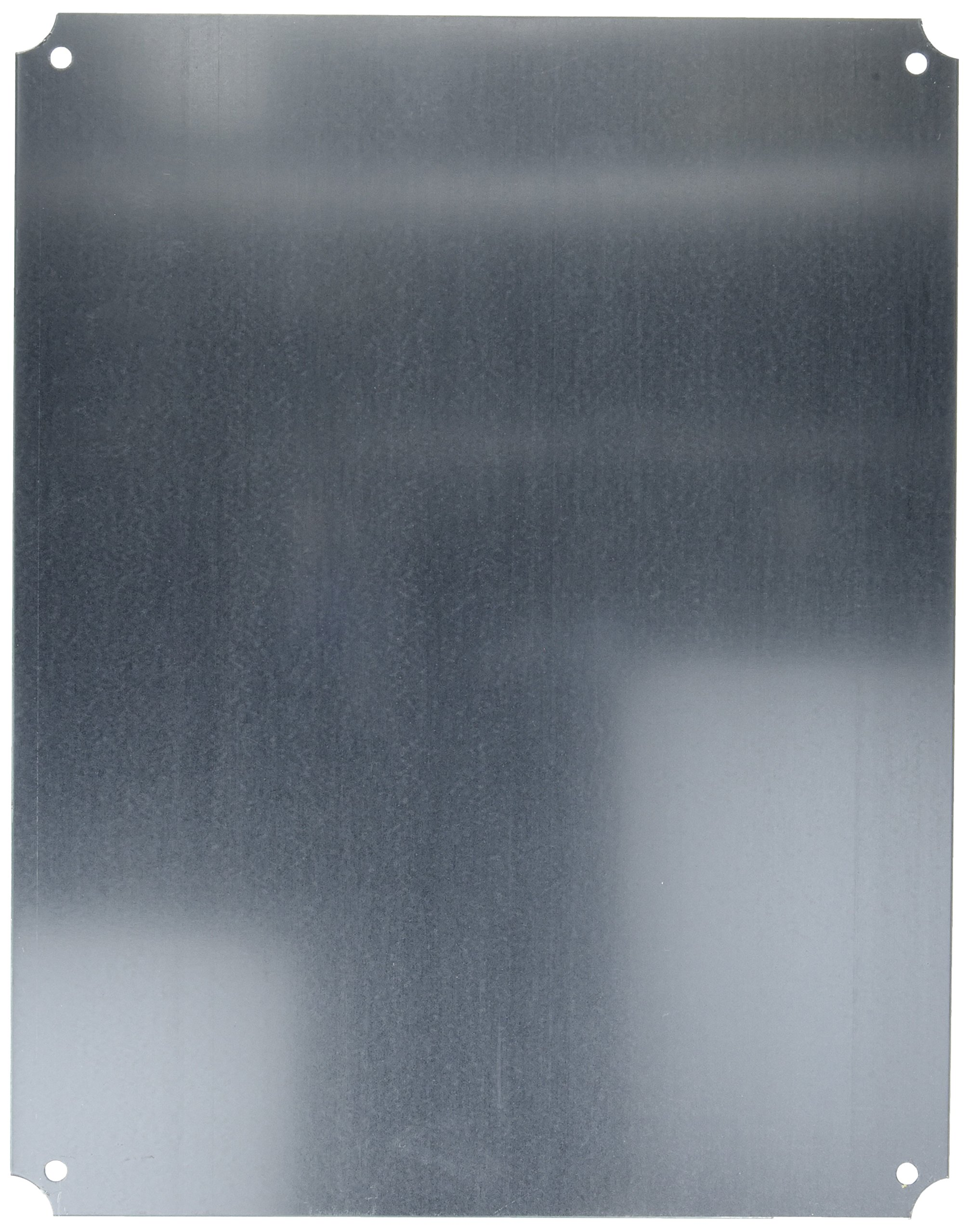 BUD Industries NBX-32932 Steel Internal Panel, 18-7/32'' Length x 14-1/4'' Width x 3/64'' Thick, Natural, for NBF Series Boxes