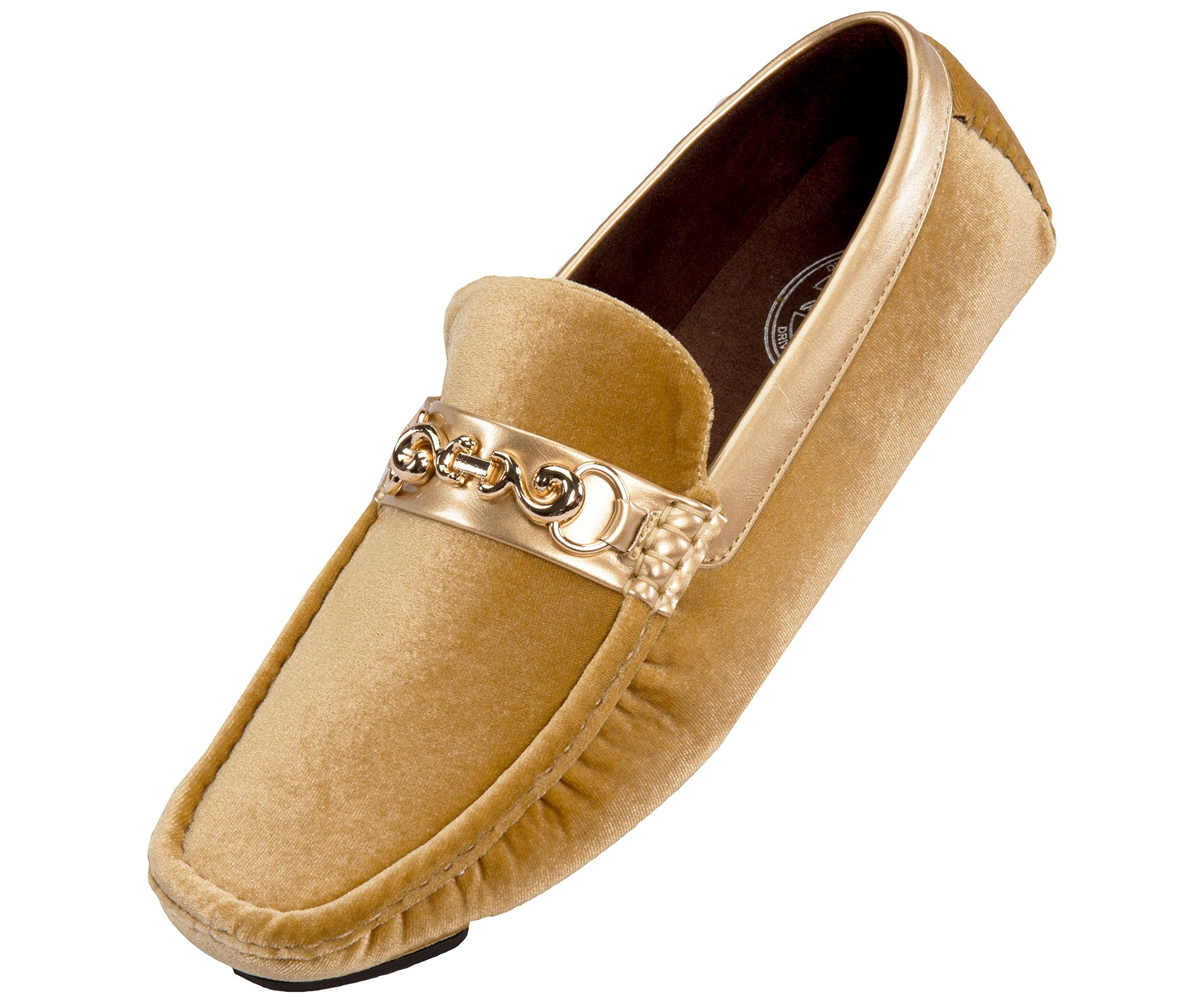 750667759e9 Amali Men s Velvet Loafer Smoking Slipper Dress Shoe with Embellished Bit  Style Piero