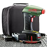 Air Dragon Deluxe – Portable Air Compressor with Built-In LED Light + Deluxe Package with Rechargeable Battery & Protective Storage Case