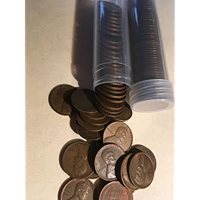 Lot of S San Francisco Mint Lincoln Wheat Back Cents 2 Rolls 100 Pennies Nice Coins: Toys & Games