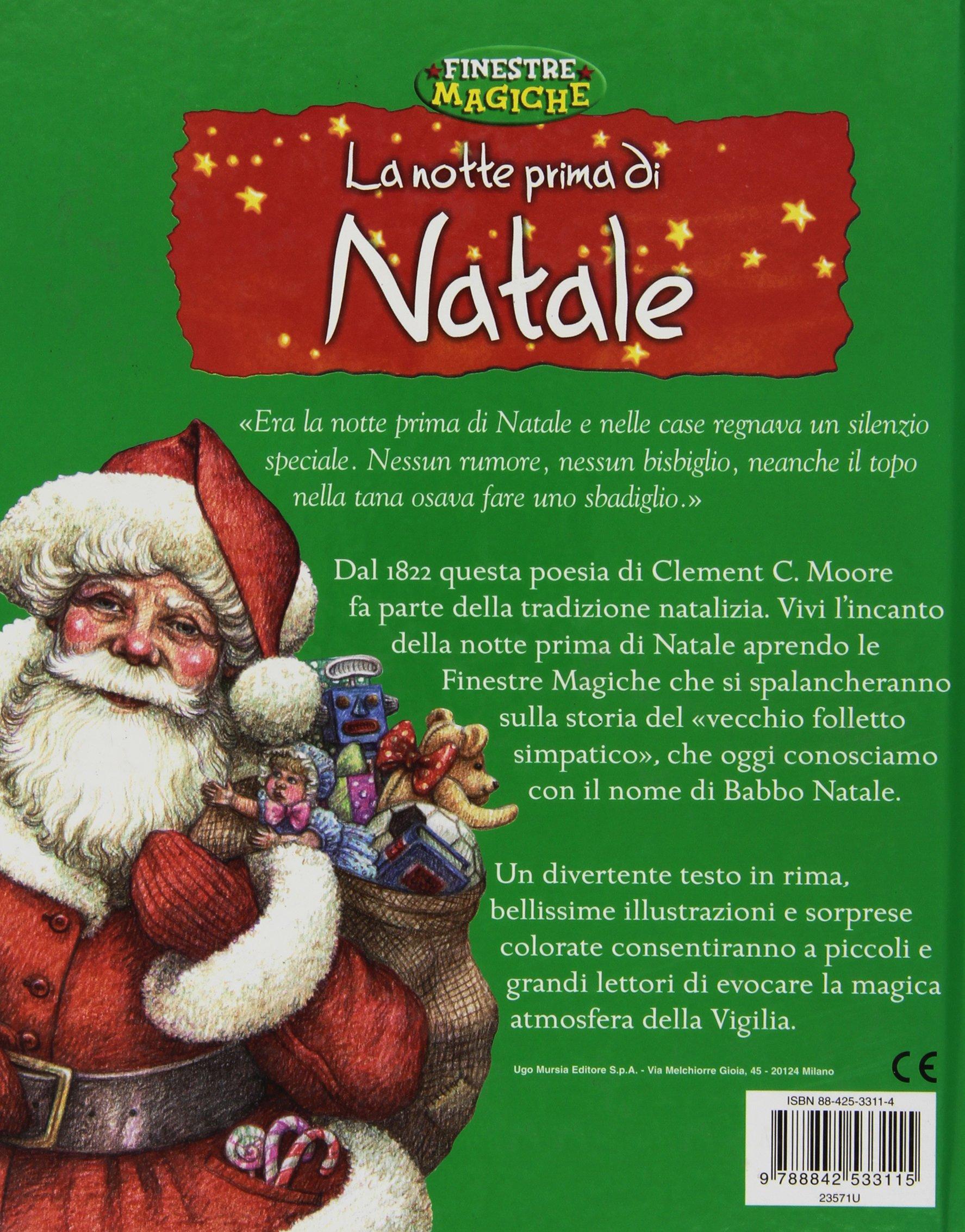 Poesie Di Natale In Rima.La Notte Prima Di Natale 9788842533115 Amazon Com Books