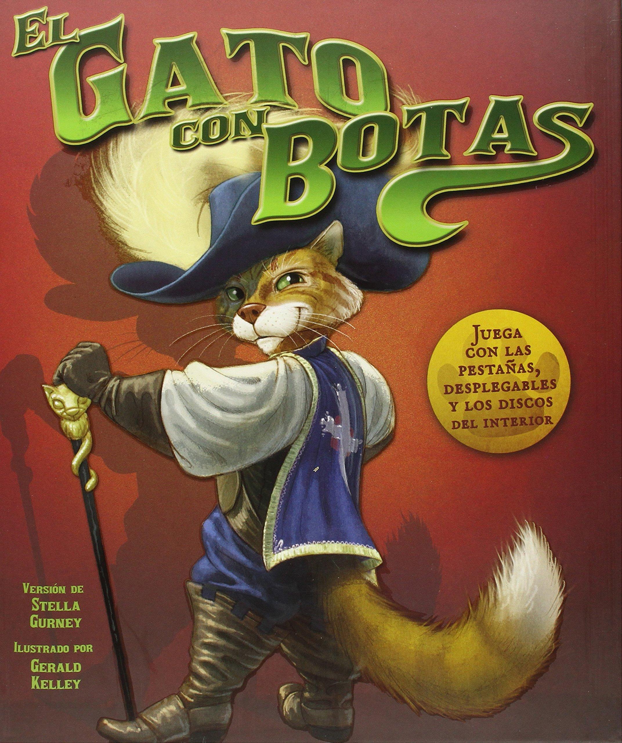 El gato con botas (Spanish Edition): Stella Gurney, Charles ...