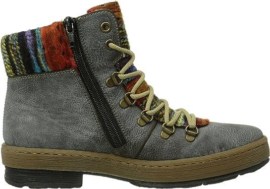 Rieker Z6743-45, Botas Plisadas para Mujer: Rieker: Amazon.es: Zapatos y complementos