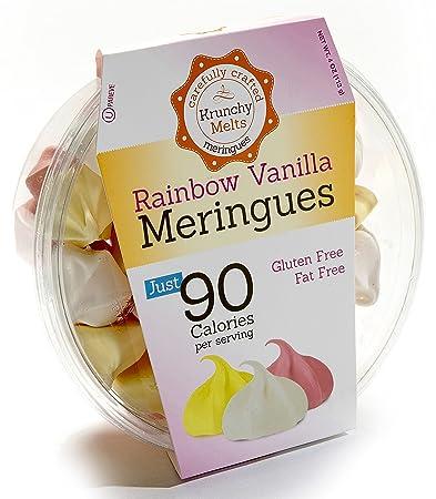 Original Meringue Cookies (Rainbow Vanilla) • 90 calories per serving, Gluten Free,