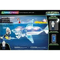 Laser Pegs Shark Ambush, Building Kit (160 pieces)