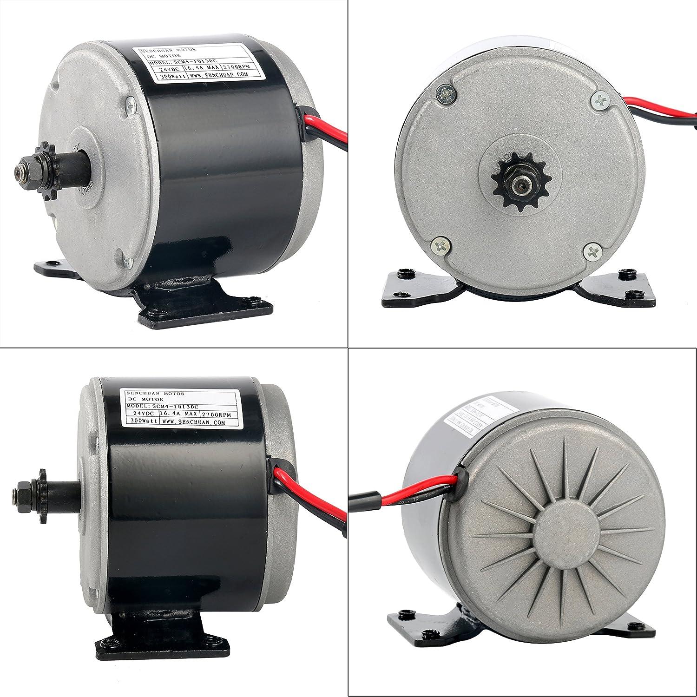 TOPQSC 24V DC 300W Dauermagnet Elektromotor Generator DIY f/ür Windkraftanlage PMA
