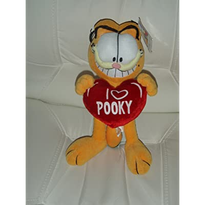 Ty Garfield Garfield Holding Heart: Toys & Games