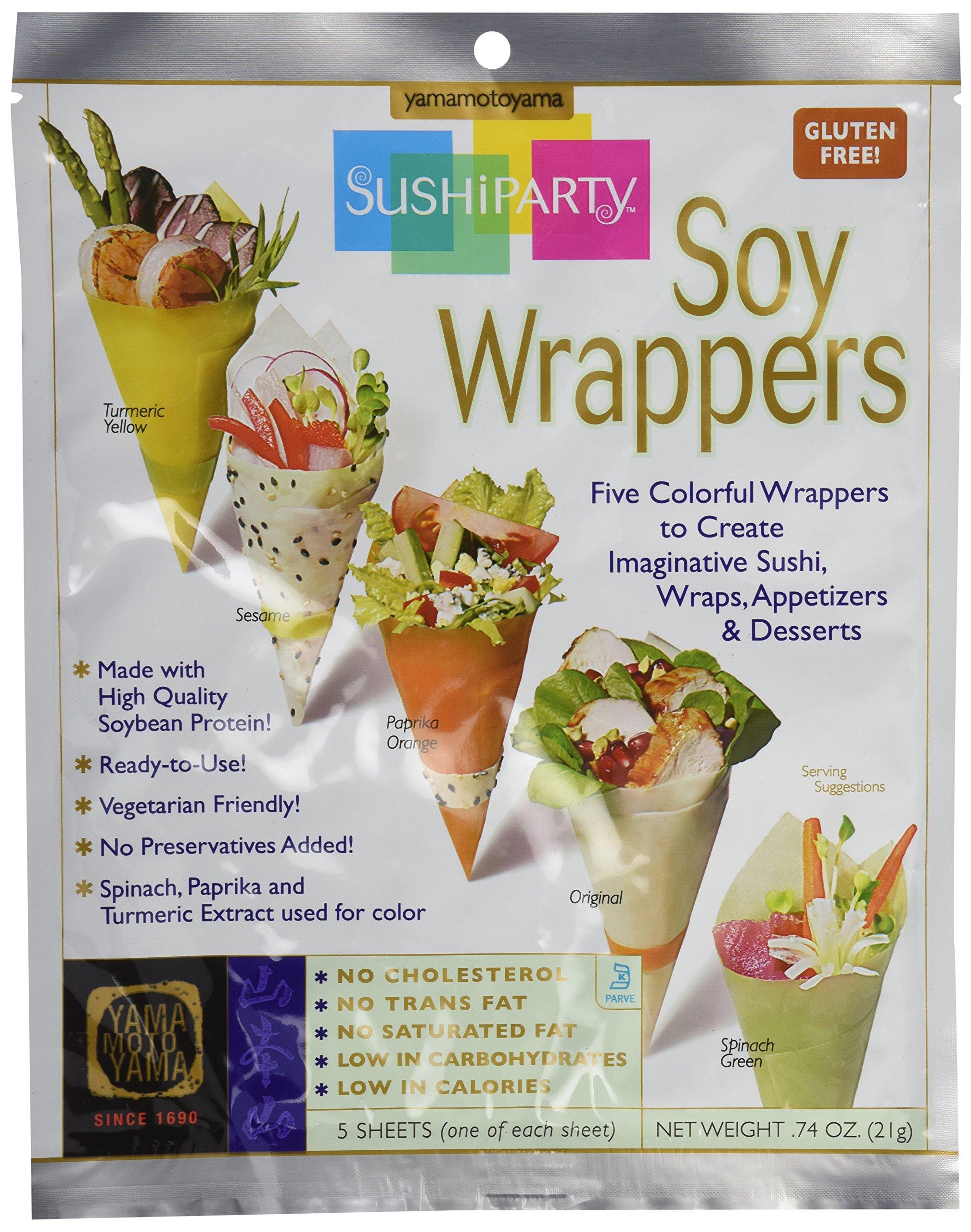 Yamamotoyama, Soy Wrappers, 5 Count