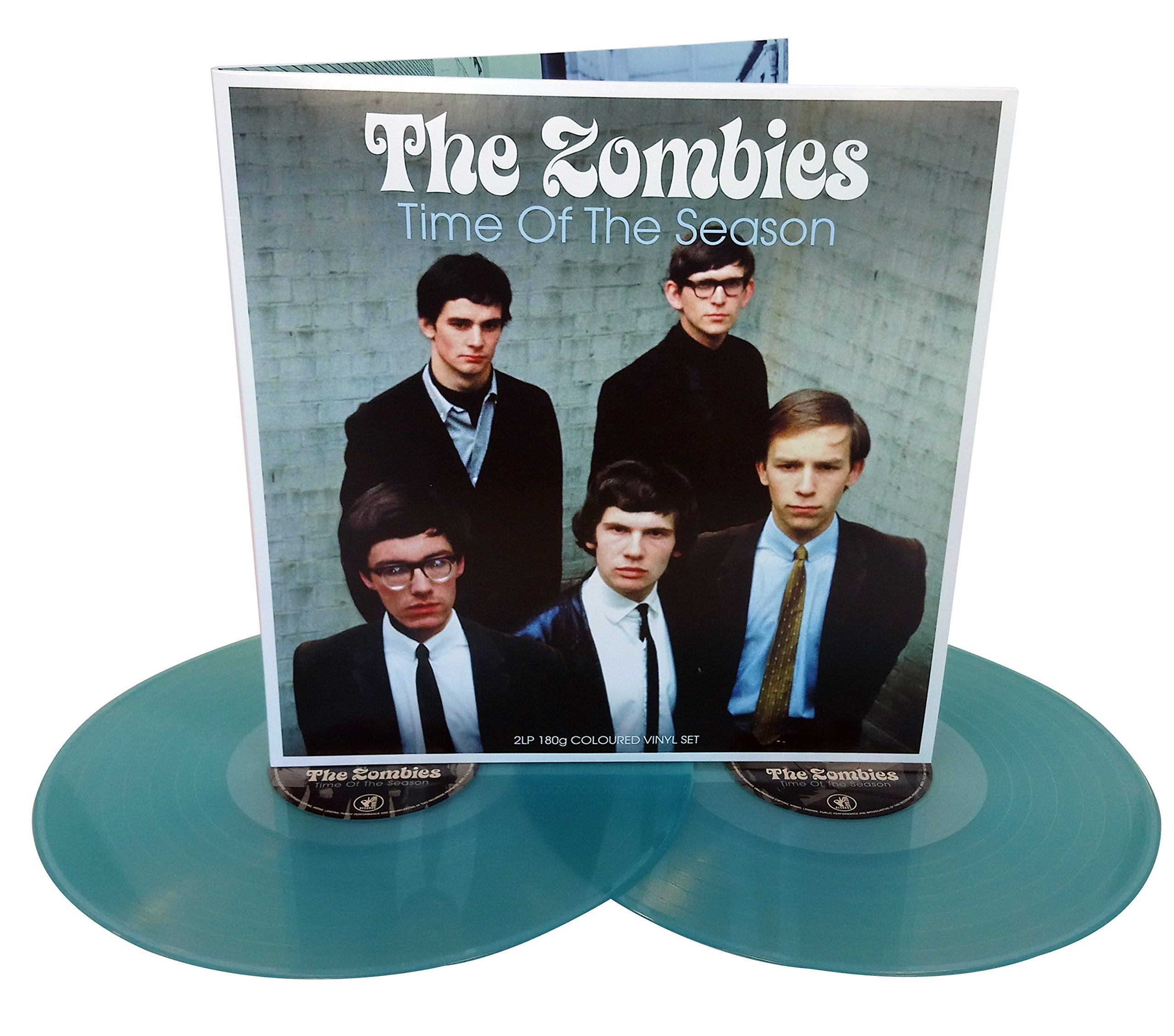 Vinilo : The Zombies - Time Of The Season (Electric Blue Vinyl) (Colored Vinyl, Blue, United Kingdom - Import, 2 Disc)