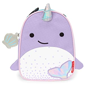 Skip Hop Kids Insulated Lunch Box, Narwhal
