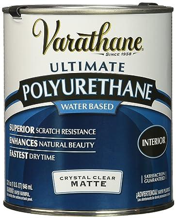 RUST-OLEUM 262074 Varathane Polyurethane Clear Interior Matte ...