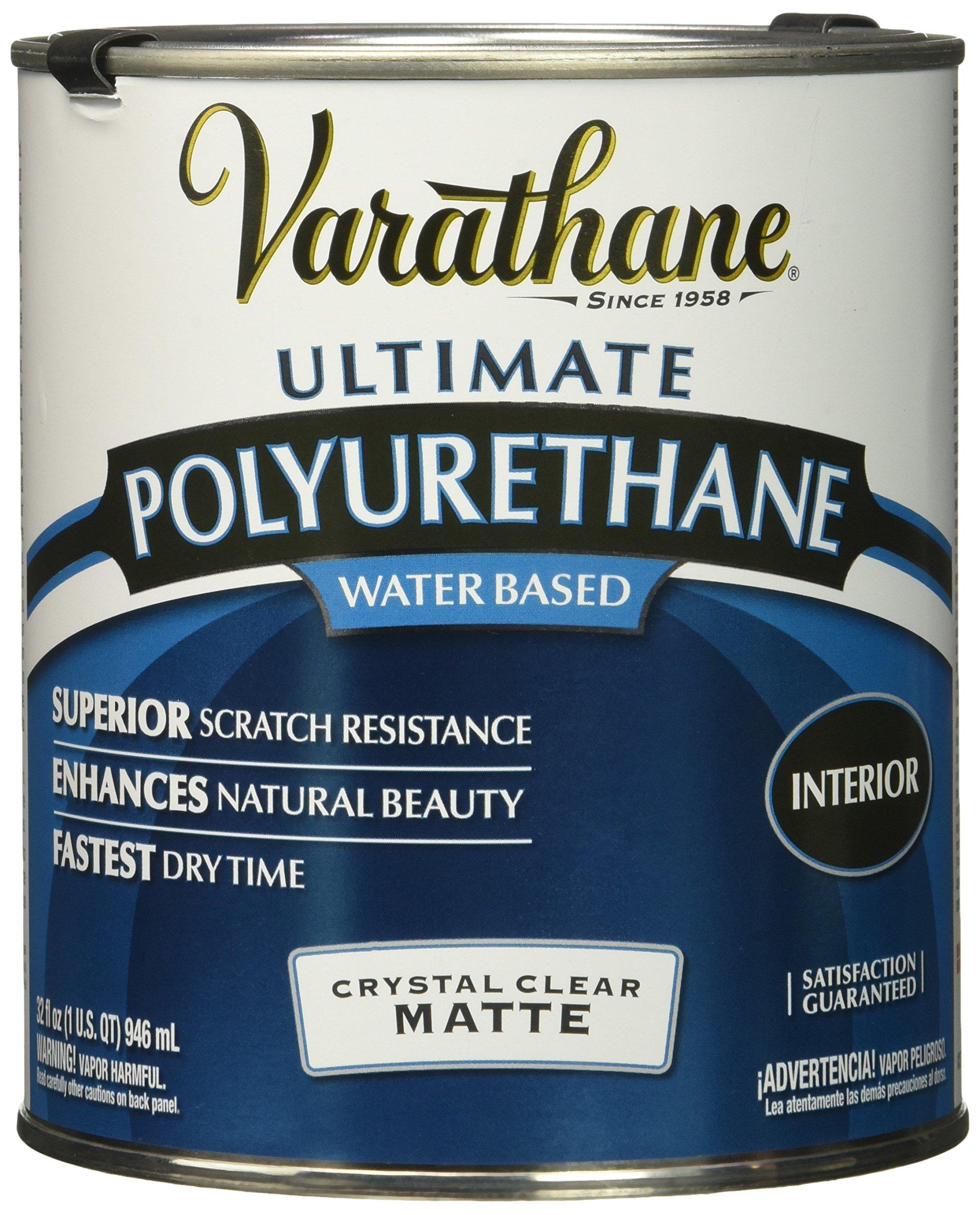 RUST-OLEUM 262074 Varathane Polyurethane Clear Interior Matte Finish