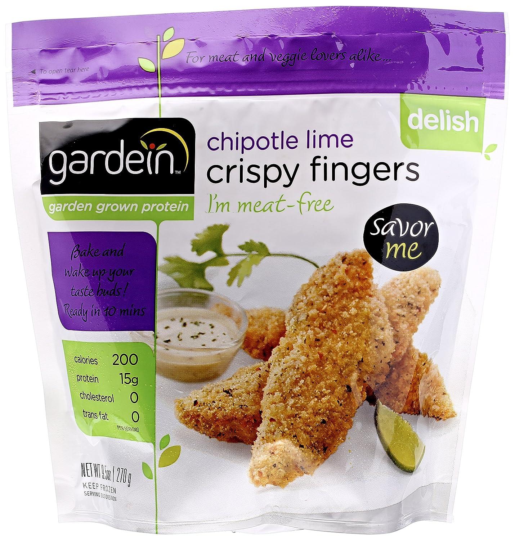 gardein chipotle lime crispy fingers 9 5 ounce amazon com