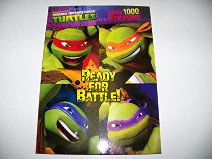 Amazon.com: teenage mutant ninja turtles listo para la ...