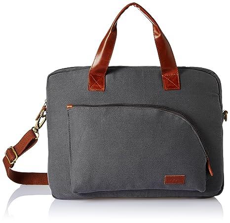 946a69c4ebab Ruosh Canvas 38 cms Grey Messenger Bag (mes-bag-5502)  Amazon.in  Bags