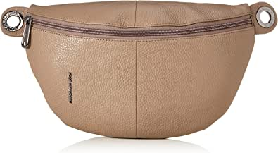 Mandarina Duck Mellow Leather Bum Bag/Nero, bolso bandolera para Mujer, 0.01x0.01x0.01 centimeters (W x H x L)