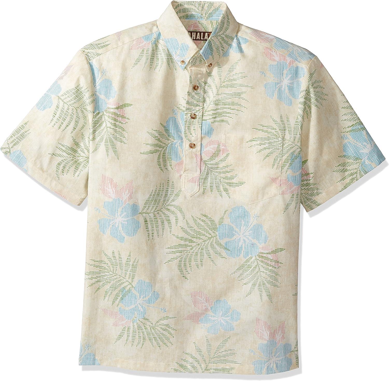 Kahala Mens Maui No Ka Oi Relaxed Fit Hawaiian Shirt