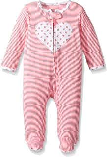 28dfea5e91c9 Amazon.com  Carter s Baby Girls  Cotton Sleep and Play  Clothing