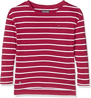 Tommy Hilfiger AME Girls Cn Cardigan L S  Amazon.co.uk  Clothing 4c86be8bbee4