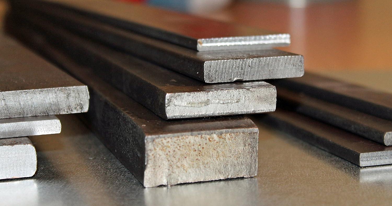 Plancha de acero plano de 80 x 8 mm, de 100 a 3000 mm, longitud: 900 mm