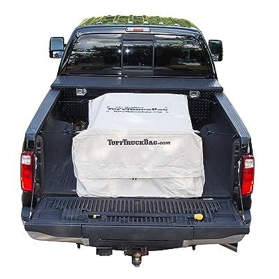 Tuff Truck Bag TTB-K Waterproof Truck Bed Cargo Bag, 40'' W x 50'' L x 22'' H, Khaki: Automotive