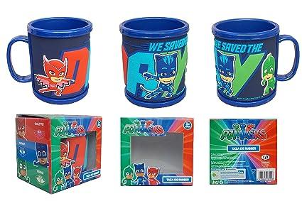 PJ MASK Rubber Cup 3D: Amazon co uk: Kitchen & Home