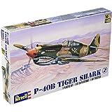 アメリカレベル 1/48 P-40B タイガーシャーク 05209 プラモデル