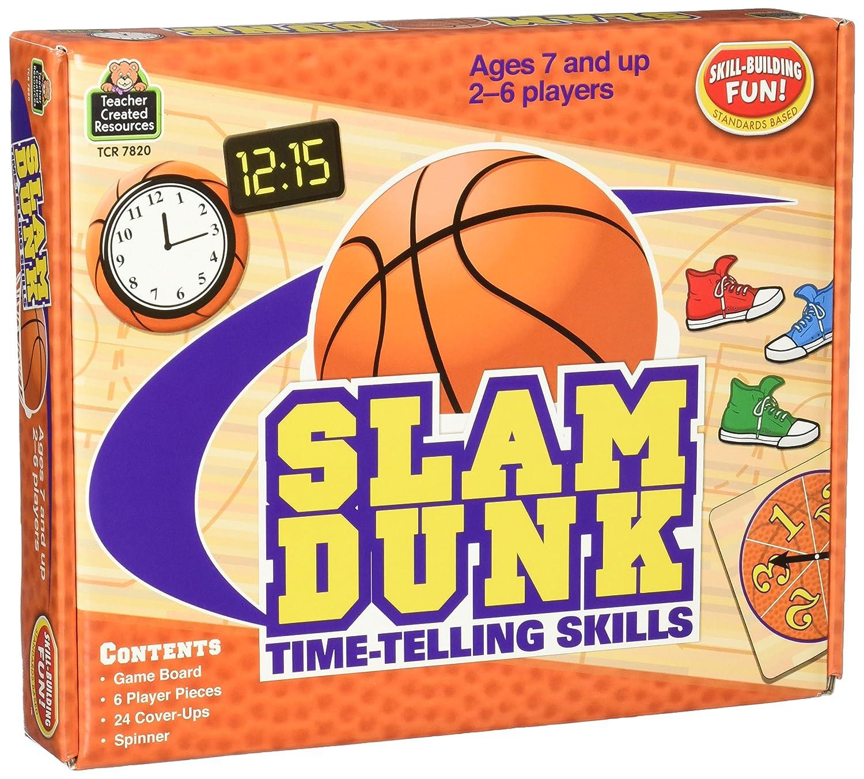 SLAM DUNK TIME TELLING SKILLS GAME: Amazon.es: Juguetes y juegos