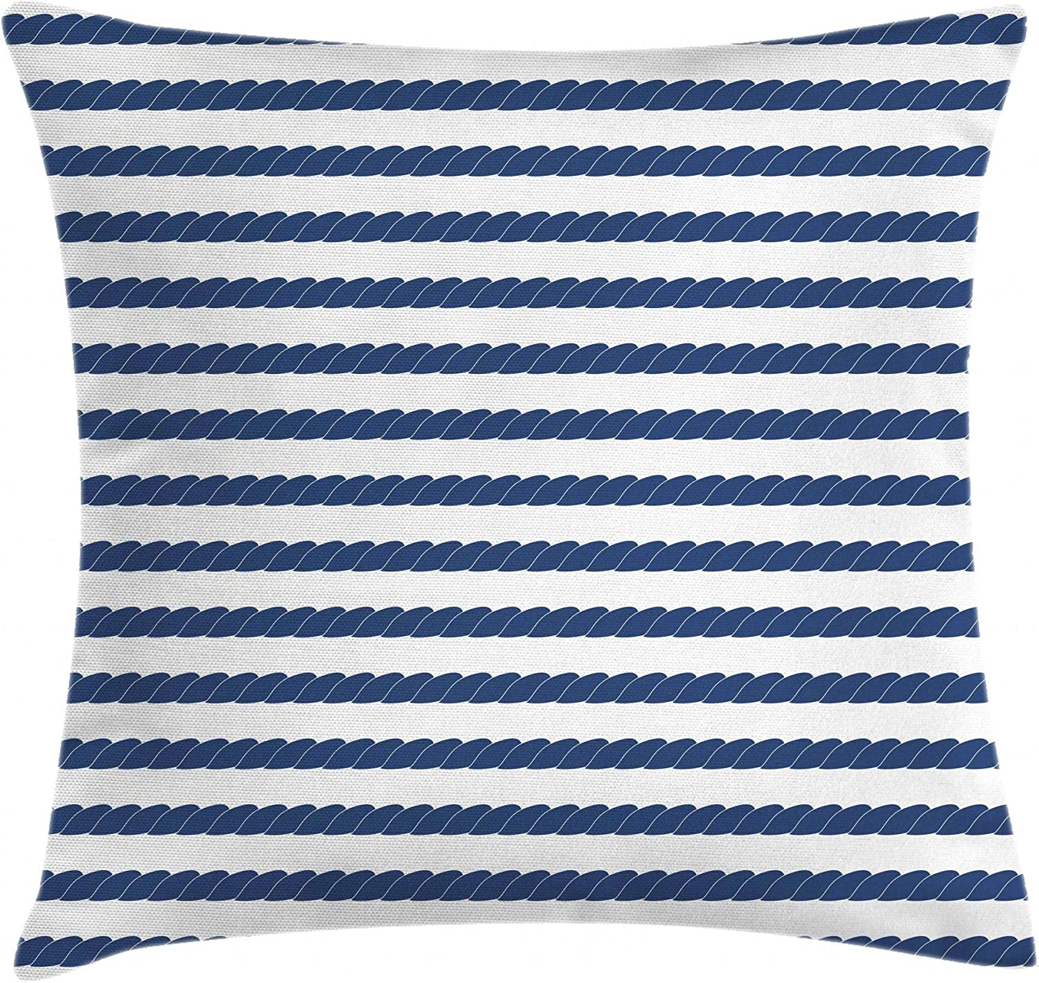 Ambesonne Navy Throw Pillow