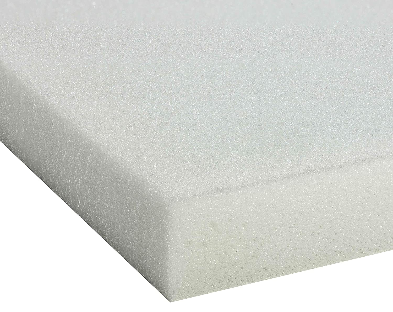 ABZ KM241-120 Kindermatratze Polyetherschaum Doppelgewebe Doppelgewebe Doppelgewebe D25 60 x 120 x 11 cm, weiß 8d83de