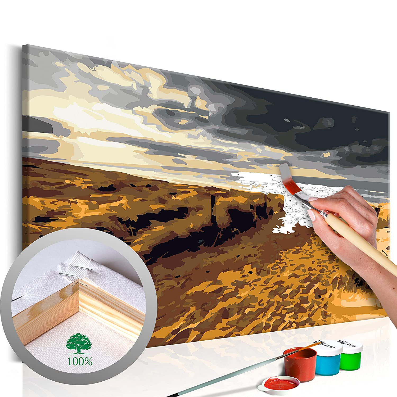 Dipingere con i Numeri murando Romantico Paris 60x40 cm n-A-0225-d-a