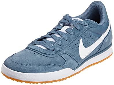 cheap for discount 5bf9f fa49a Nike Mens Field Trainer Blue Graphite,White,Game Light Brown Leather  Outdoor Multisport Training