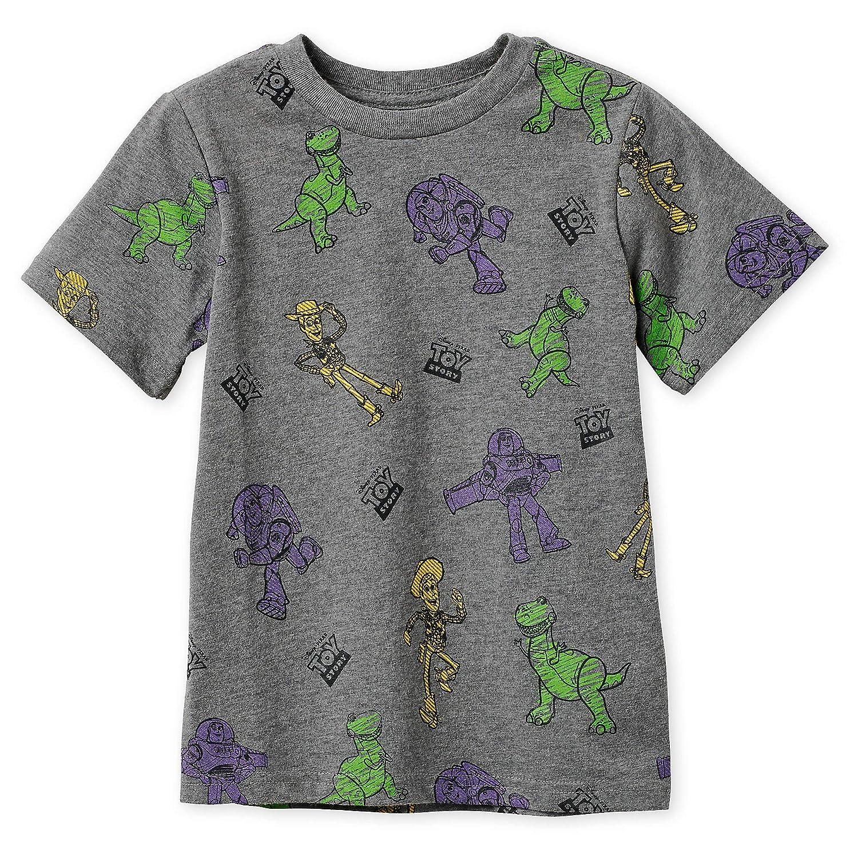 Disney Store Toy Story Buzz Lightyear Costume Short Sleeve T Shirt Boy Size 5//6