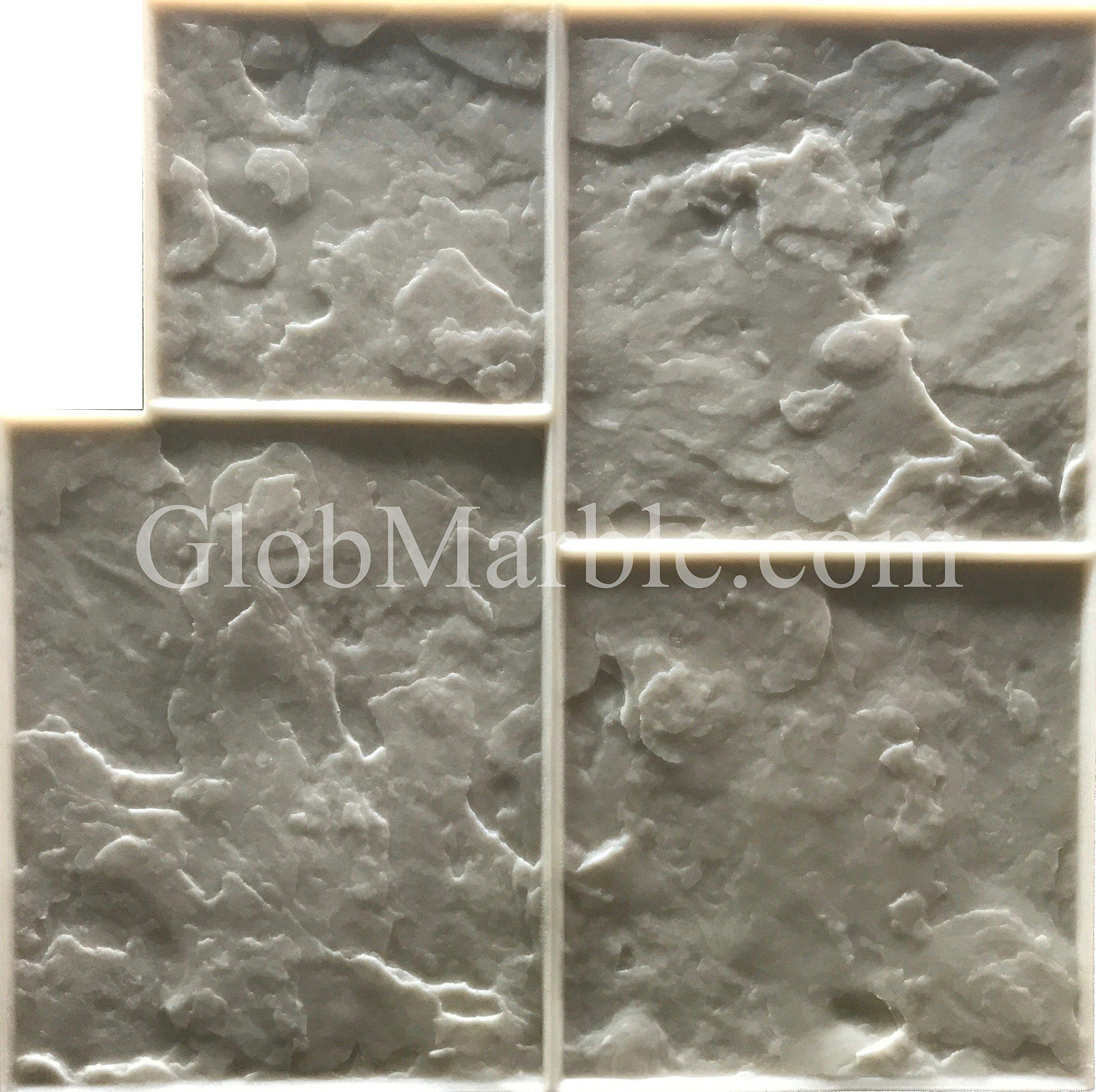 5 Piece Ashlar Slate Stone Stamp Set GlobMarble SM 3001