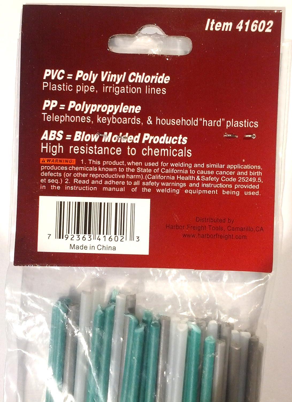 50 Piece Plastic Welding Rods