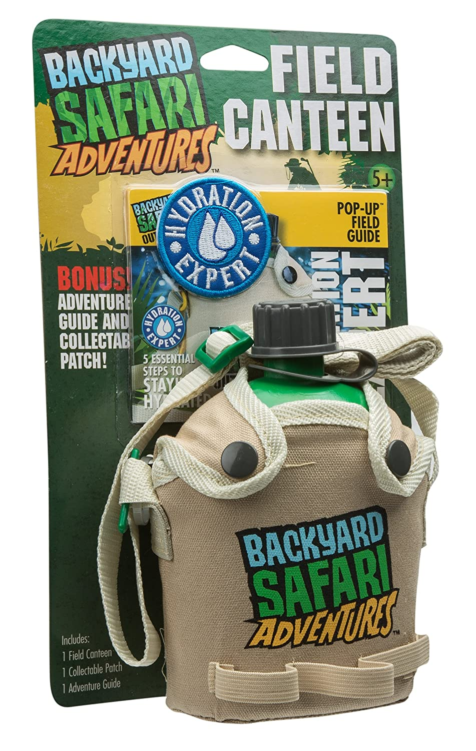 amazon com backyard safari field canteen toys u0026 games