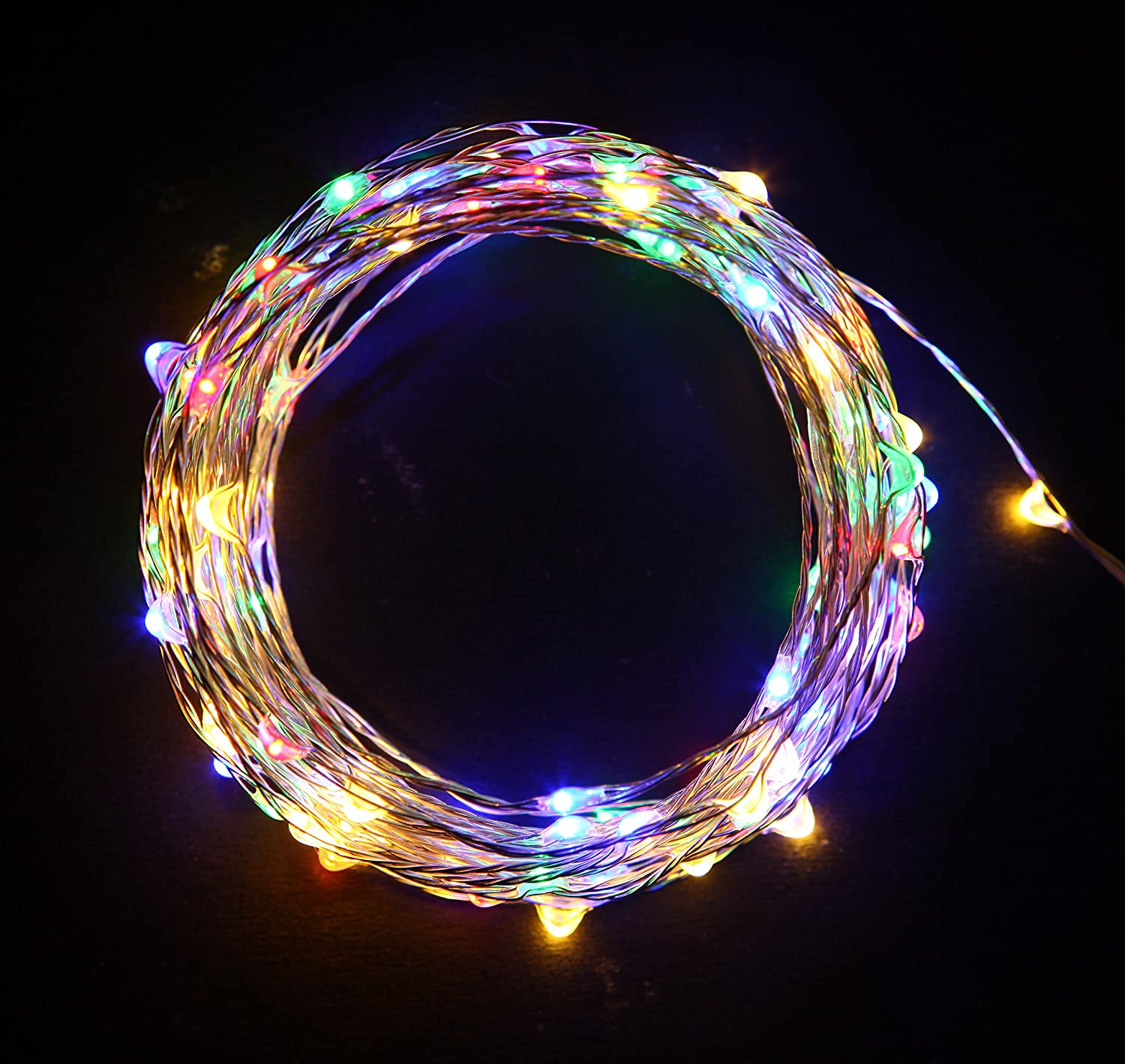 Amazon.com: Starry String Lights Multi Color LED\'s on a Flexible ...