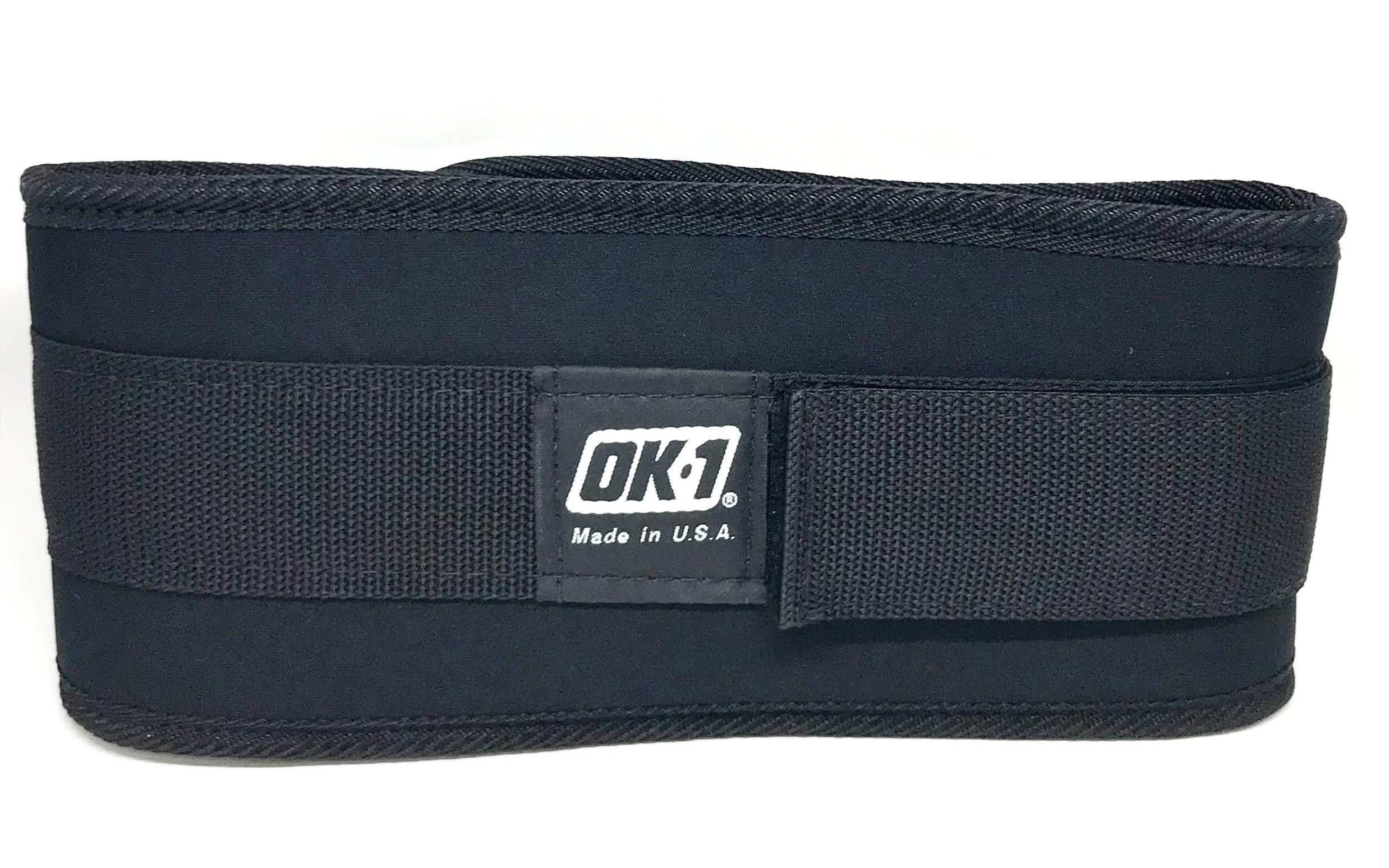 OK-1 Safety OK-ANB5 Small Back Support Belt, Waist Size: 22-28 Inch by OK-1 Safety