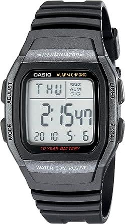 Casio W96H-1BV - Reloj Digital Deportivo clásico para Hombre ...