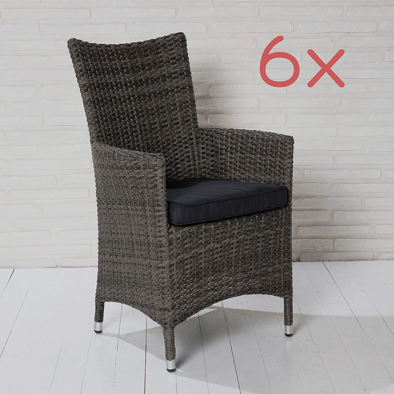 polyrattan stuhl grau polyrattan stuhl loge komplett mit auflage grau frisch polyrattan stuhl. Black Bedroom Furniture Sets. Home Design Ideas
