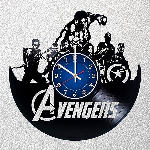 AVENGERS 12 inch / 30 cm Vinyl Record Wall Clock